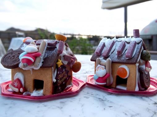 お菓子の家 クリスマスのお菓子 クラブハリエキッズスタジオ