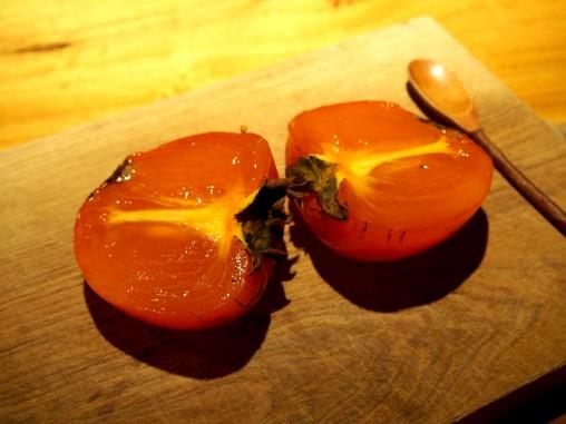 百目柿 熟成
